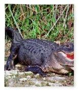 American Alligator Fleece Blanket