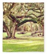 Ancient Oaks Fleece Blanket