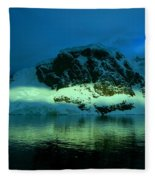 Antarctic Fiord Fleece Blanket