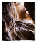 Upper Antelope Canyon Fleece Blanket