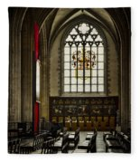 Antwerp Cathedral Fleece Blanket