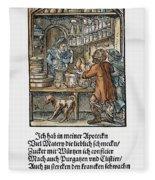 Apothecary, 1568 Fleece Blanket