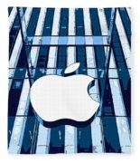 Apple In The Big Apple Fleece Blanket