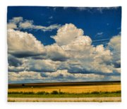 Approaching Storm Fleece Blanket