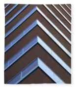 Architectural Details Fleece Blanket