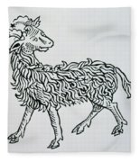 Aries An Illustration From The Poeticon Fleece Blanket