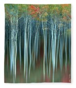 Army Of Trees Fleece Blanket
