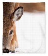 Attention Fleece Blanket