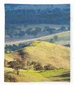 Australian Landscape Fleece Blanket
