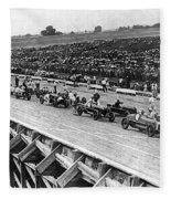 Auto Race, C1922 Fleece Blanket