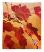 Red Blaze Fleece Blanket