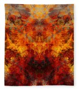 Autumn Glory Fleece Blanket
