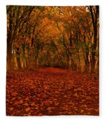 Autumn II Fleece Blanket