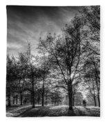 Autumn In London Fleece Blanket