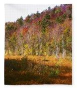 Autumn In The Adirondacks Fleece Blanket