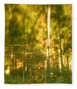 Autumn Reflections In Tennessee Fleece Blanket