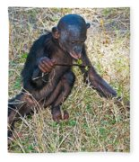 Baby Bonobo Fleece Blanket