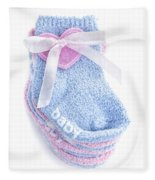 Baby Socks Fleece Blanket