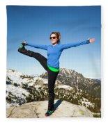 Backcountry Yoga Fleece Blanket