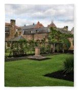 Bakewell Country Gardens - Bakewell Town - Peak District - England Fleece Blanket