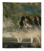 Ballet At The Paris Opera Fleece Blanket