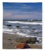 Baltic Sea Fleece Blanket