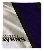 Baltimore Ravens Uniform Fleece Blanket