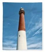Barnegat Lighthouse  Fleece Blanket