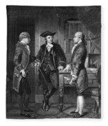 Baron De Kalb (1721-1780) Fleece Blanket