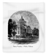 Barton Academy - Mobile Alabama Fleece Blanket