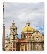 Basilica Of Our Lady Of Guadalupe Fleece Blanket