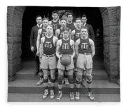 Basketball Team, 1920 Fleece Blanket
