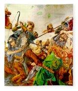 Battle Of Grunwald Fleece Blanket
