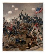 Battle Of Spottsylvania Fleece Blanket