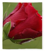 Beautiful Red Fleece Blanket