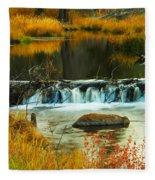 Beautiful Water Fleece Blanket