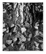 Beech Tree Fleece Blanket