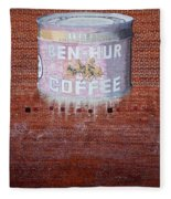 Ben Hur Coffee Fleece Blanket