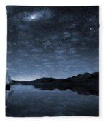 Beneath A Jewelled Sky Fleece Blanket