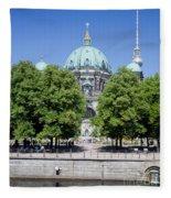 Berlin Catherdral Fleece Blanket