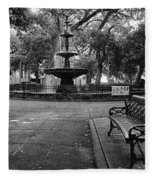 Bienville Square Fleece Blanket