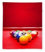 Billards Pool Game Fleece Blanket