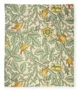 Bird Wallpaper Design Fleece Blanket