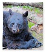 Black Bear Fleece Blanket