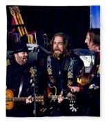 Blackie And The Rodeo Kings Fleece Blanket