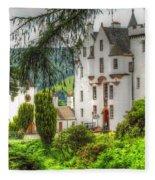 Blair Castle Fleece Blanket