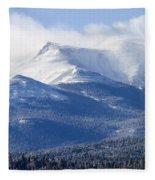Blizzard Peak Fleece Blanket