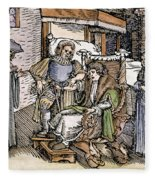 Bloodletting, 1540 Fleece Blanket