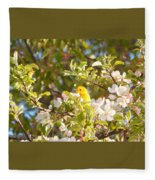 Blossom Time Fleece Blanket