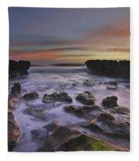 Blowing Rocks Fleece Blanket